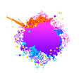 colorful artistic background vector image