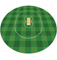 cricket field vector image vector image