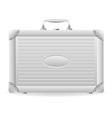 metallic briefcase 01 vector image