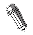 Pencil draw utensil vector image vector image