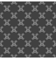 Skull and crossbones seamless pattern vector image