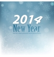 Snowflackes background New 2014 Year vector image