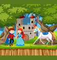 a fairy tale story vector image vector image
