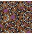 Abstract unusual mandala kaleidoscope symmetrical vector image vector image