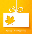 Applique card or background with leaf vector image