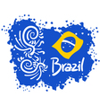 Brazil sport art vector image vector image