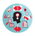bright idea business concept vector image