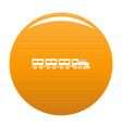 compartment train icon orange