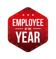 employee of the year badge