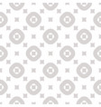 geometric seamless pattern with small squares and vector image vector image
