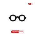 glasses icon isolated on white background modern vector image vector image
