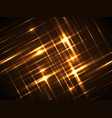line glow light background vector image vector image