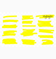 Marker lines highlighter brush lines hand drawing