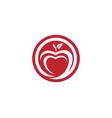 apple design icon vector image vector image
