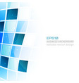 business abstract background with square pattern vector image vector image