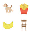 business trade fast food and other web icon in vector image vector image
