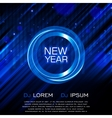 New Year Party Flyer Club Party Flyer vector image vector image