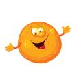 orange cute vector image vector image