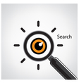 search sign vector image