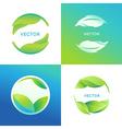 set logo design templates and symbols vector image