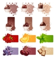 set of different colorful frames vector image