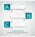 business obligation background vector image
