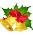 Christmas jingle bells vector image vector image