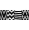 geometric and stripe boho seamless patterns set vector image