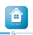 House icon Home sign vector image