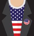 I Love USA T-Shirt vector image