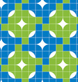 Mosaic tiles seamless pattern background vector image vector image