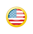 old-glory-icon vector image