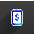 Phone tariff plan cost icon money spending vector image vector image
