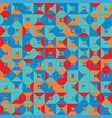 seamless pattern geometric colorful abstract vector image