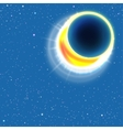 Sun Eclipse vector image vector image