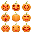 Collect Pumpkin for Halloween vector image