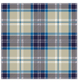 Blue Seamless Tartan Plaid Patter vector image vector image