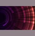 circle radiation abstract sheet layer background vector image vector image