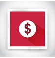 Icon of dollar for web and mobile applications vector image