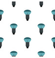 lamp with blue light pattern seamless vector image vector image