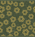 seamless ornamental pattern or decorative vector image