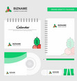 socks logo calendar template cd cover diary and vector image vector image