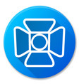 spotlight blue circle icon design vector image
