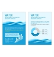 Template infographic water vector image vector image