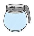 kettle kitchenware utensil ilustration vector image