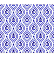 cute blue pattern vector image vector image