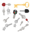 door key access household tool vector image