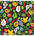 garden wallpaper vector image vector image