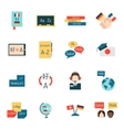 Languages education and school learning vector image