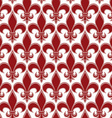 Retro artistic seamless pattern with decorative vector image